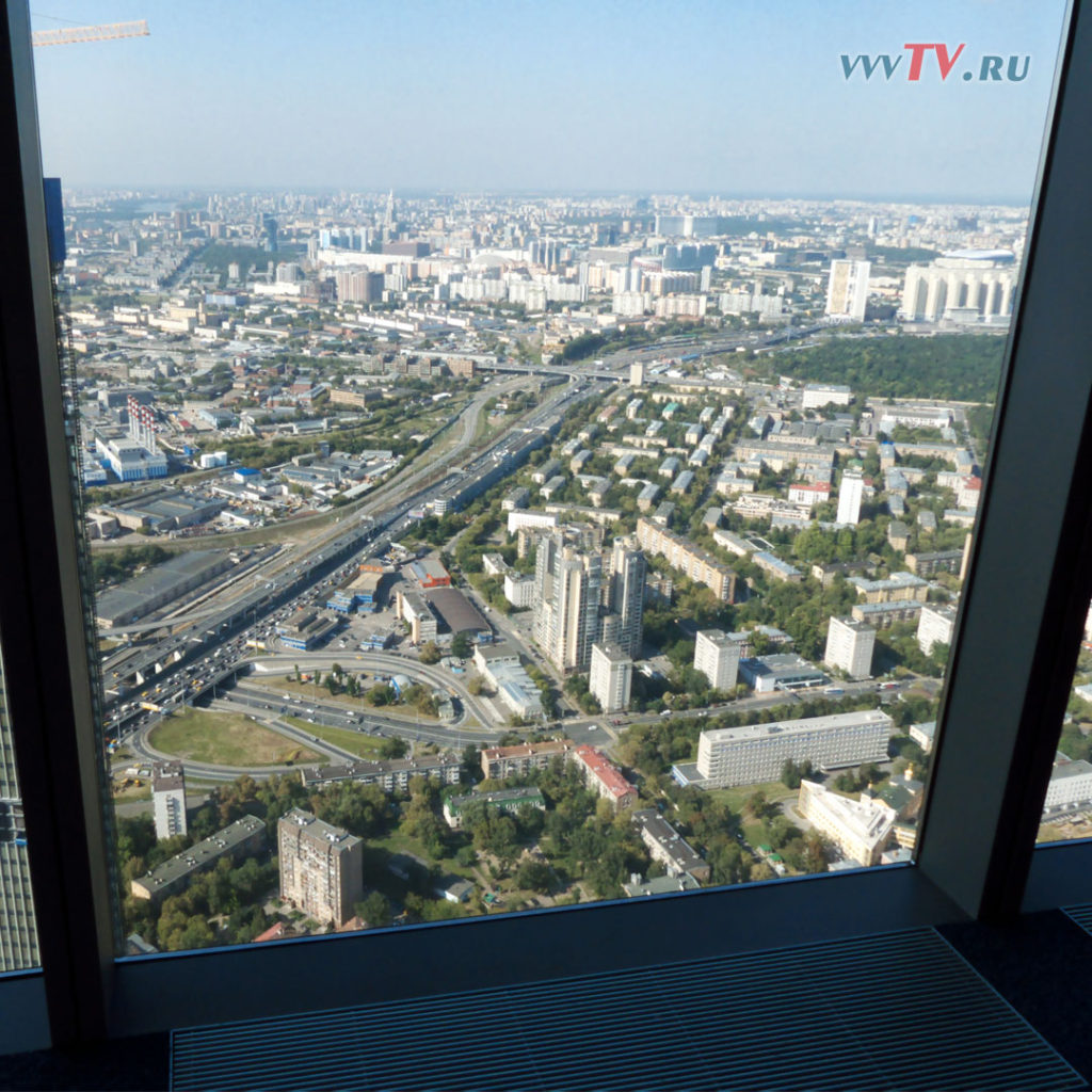 Панорама 360. Москва-сити, башня Федерация.