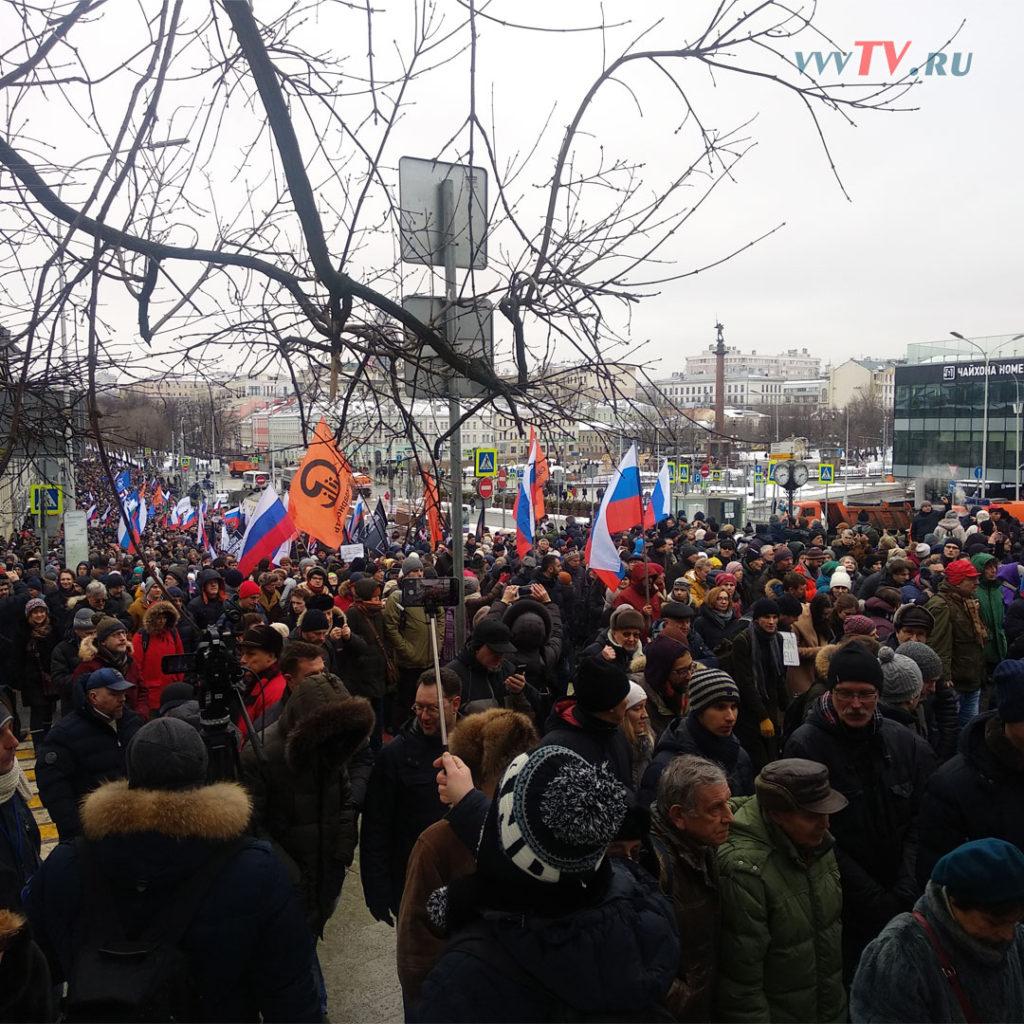 Марш памяти Бориса Немцова - 2019